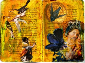 Altered Book page