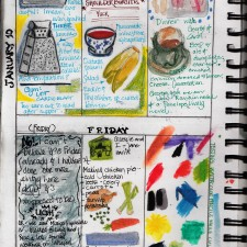 Illustrated Journal Travel Art Technique