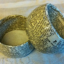 Altered Dictionary Jewelry