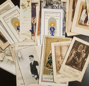 Vintage French Holy Cards