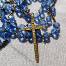 vintage rosary religious