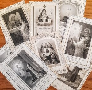 French holy cards
